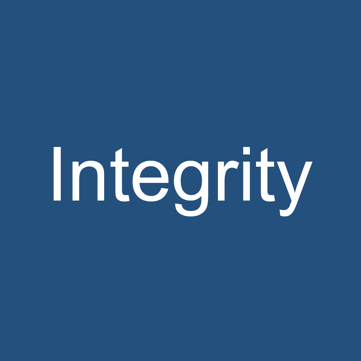 Integrity in international justice